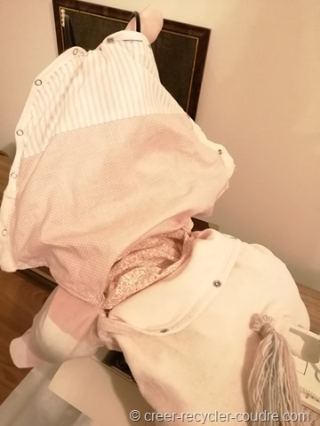 porte pyjama fini avec doublure