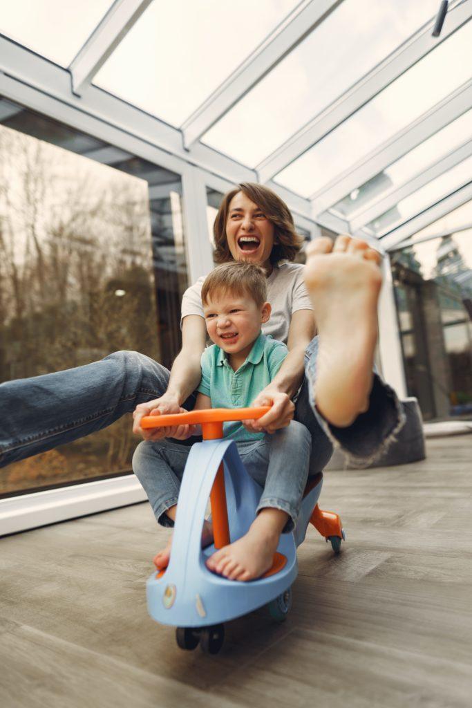le chemin vers la parentalité positive