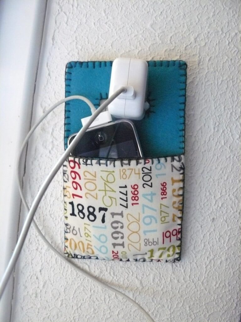 porte chargeur téléphone portable