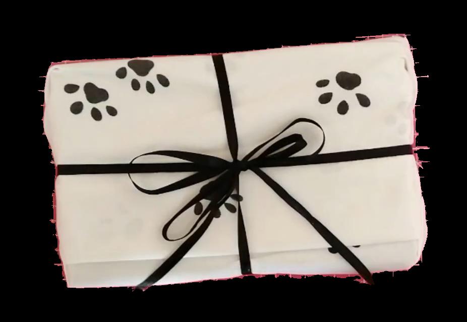 livre emballage drap_emballage cadeau sans papier