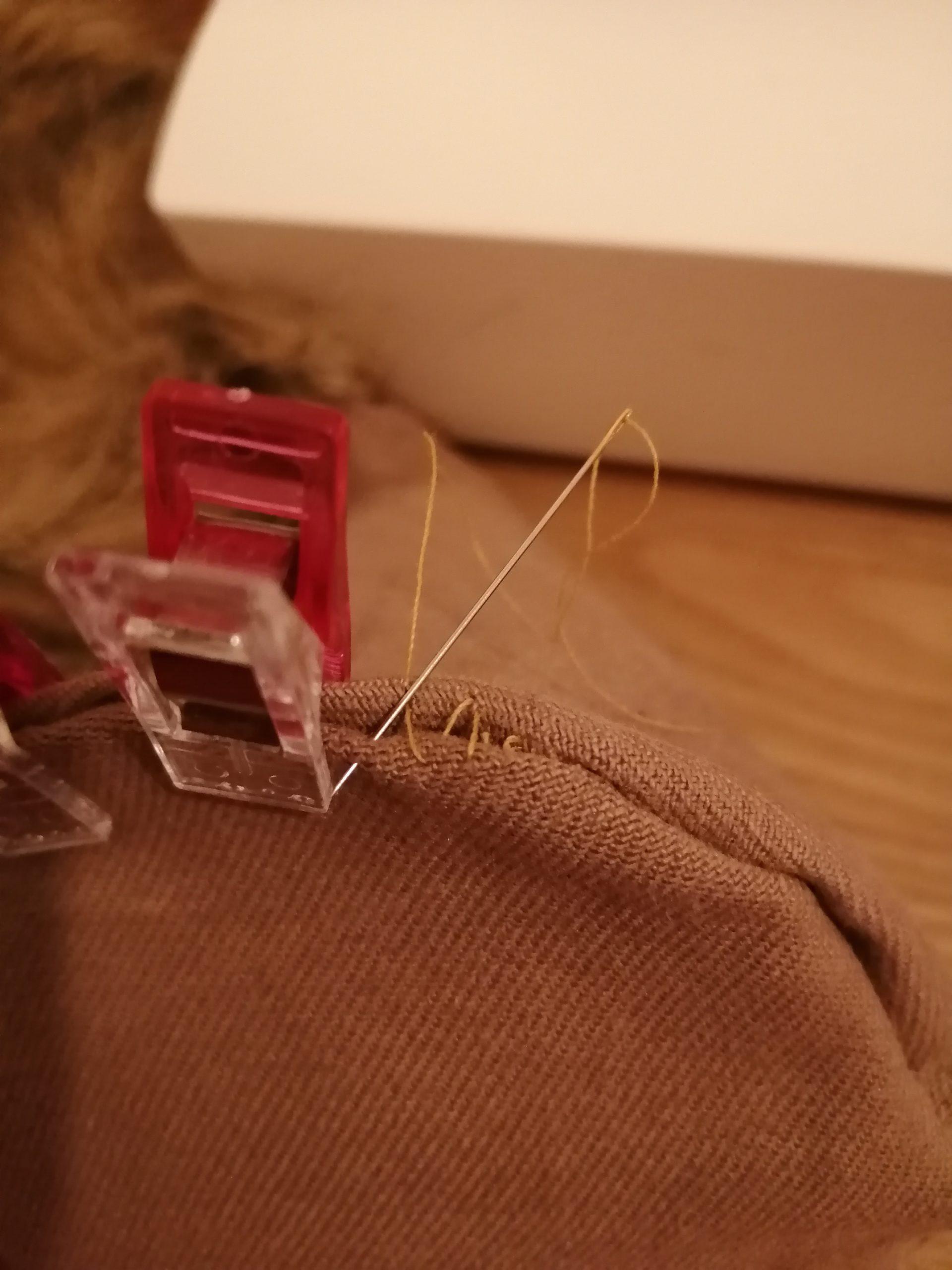 couture base à la main 2