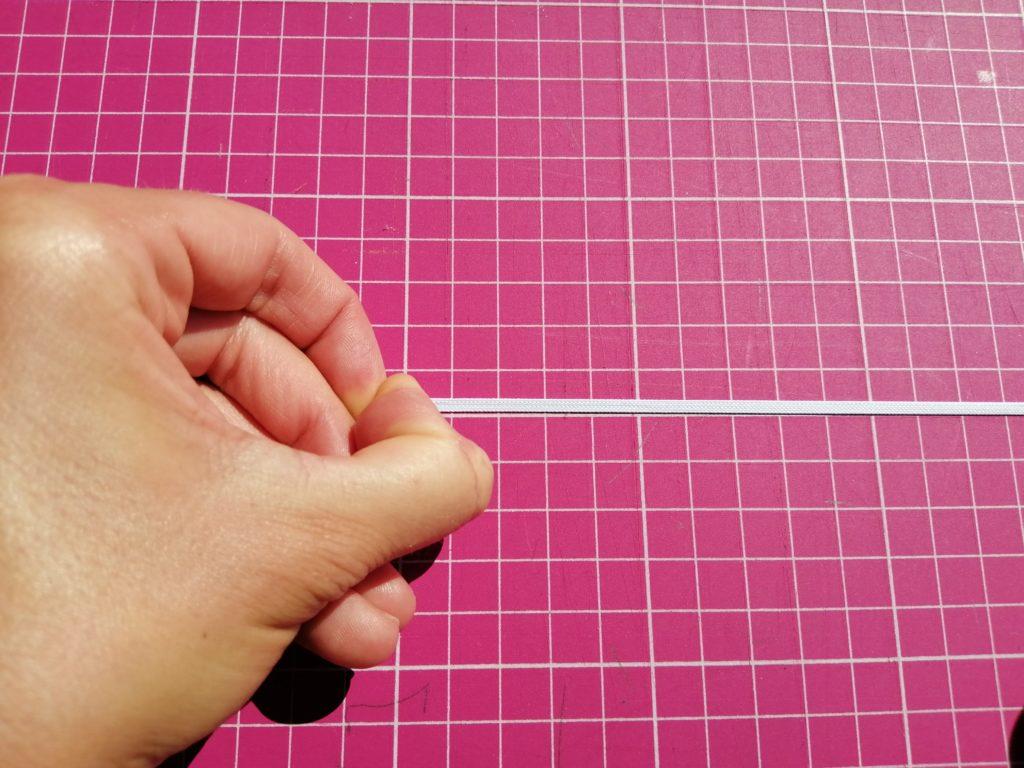élastique côtelé ou élastique tressé étiré