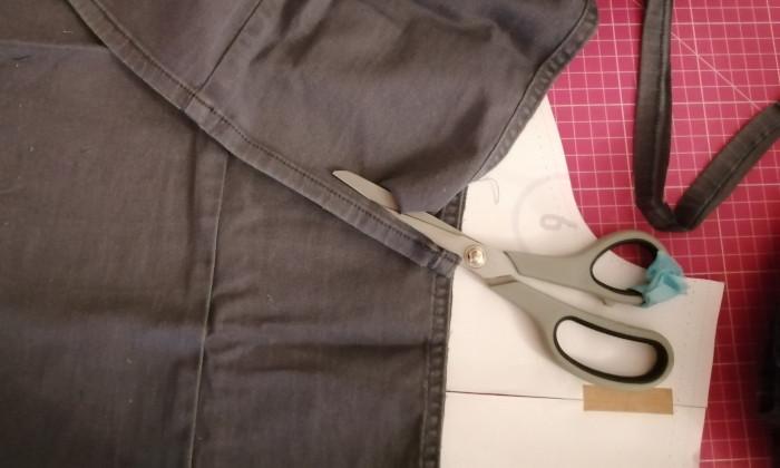 débuter la couture upcycling : coupez les surpiqûre, sinon gare aux aiguilles qui cassent !
